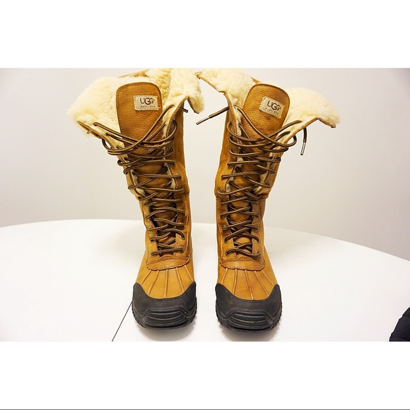 ec523d03f3c Ugh Adirondack Tall Winter Boots Size 5